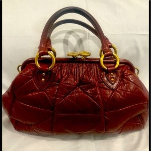 MARC JACOBS quilted satchel